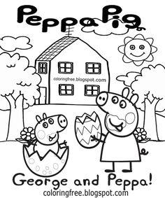 peppa wutz ausmalbilder online | malvorlagen, ausmalbilder, ausmalbilder zum ausdrucken kostenlos