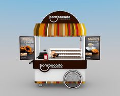 Bom Bocado // Nata's Cart on Behance