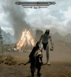 The Giants of Skyrim Video Games Funny, Funny Games, Skyrim Serana, Skyrim Funny, Skyrim Gif, Arrow To The Knee, Scrolls Game, Playstation, Jokes