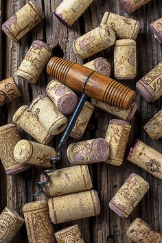 Wine Corks by Garry Gay