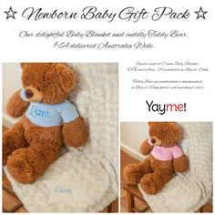 ☆ Beautiful Newborn Gift Pack ☆ To place an order, email christinen@yayme.com.au or www.yayme.com.au/christinen  * August Only Special!!