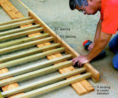 diy porch railing |
