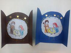 Christmas Bible, Diy Christmas Cards, Christmas Mood, Christmas Nativity, A Christmas Story, Christmas Holidays, Christmas Ornaments, Christmas Activities, Christmas Projects