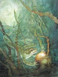 PJ Lynch. The Frog Prince