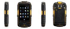 Compania britanică JCB, specializată în producţia de maşini grele, a lansat în urmă cu ceva vreme şi o linie de telefoane rezistente, care să reziste condiţiilor dure de pe şantier. Din această gamă face parte şi smartphone-ul JCB Pro-Smart, un smartphone cu Android 2.3, display tactil de 3.2 inchi, procesor la 800 Mhz, cameră de 5 megapixeli şi memorie de până la 32 GB.