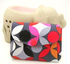 double flap coin pouch