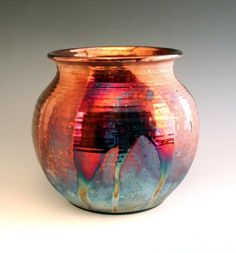 A N T H R O P O L O G Y — Copper Contrast Raku Pot