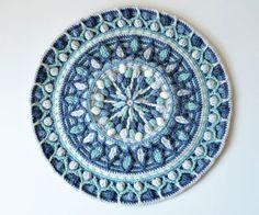 Dandelion mandala pattern
