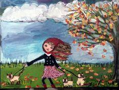 Autumn Day by Elizabeth Williams