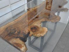Wooden table WALNUT by ANTICO TRENTINO DI LUCIO SEPPI