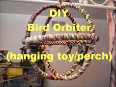 DIY: Bird Orbiter (hanging toy/perch)