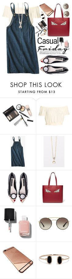"""""""Casual Friday"""" by oshint ❤ liked on Polyvore featuring Borghese, Balmain, Alice + Olivia, Fendi, Chanel, Prada and LULUS"""