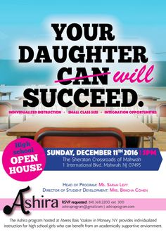 Your Daughter Will Succeed