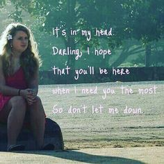 """""""Don't Let Me Down"""" lyrics by The Chainsmokers feat. Daya"""