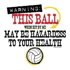 volleyball t-shirt idea