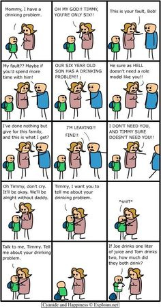 Cyanide and Happiness the art of making peolpe laugh at stuff the shouldnt
