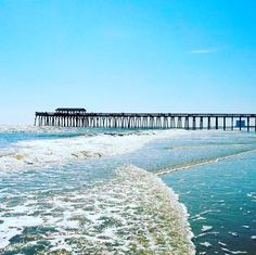 8 Piers in the Myrtle Beach, South Carolina area for fishing and fun | Click on the pin when you are ready for more info | Photo via Instagram by @deborahcraft