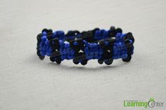 Finished cobra braid friendship bracelet