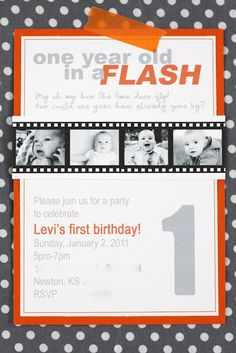 finally decided on a theme for Arzoee's first birthday! one year old in a flash {party details}
