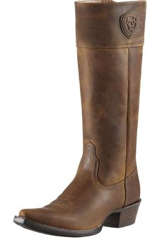 Looking for a great Western boot to wear trail riding in a jumping saddle |  Ariat Chandler