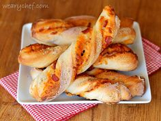 You will love these pizza breadsticks made with frozen bread dough. They are easy and fun to make!