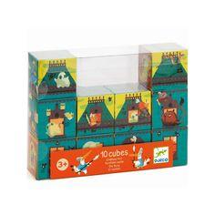 Puzzle 10 cubes : château fort   Djeco  13.50€ LIVRAISON GRATUITE http://www.priceminister.com/offer?action=desc&aid=2208645178&productid=259457463