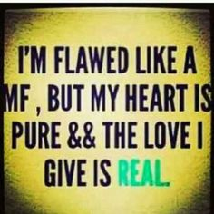 One of his Keep It 100 Quotes that he sent me to express his <3 :) They were so cute and a little thug all in one.
