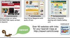 Hundreds of links for Spanish Teachers