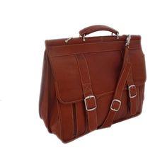 Piel European Leather Briefcase
