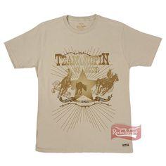 Camiseta Masculina Khaki Regular Fit 100% Algodão - Wrangler: Homens