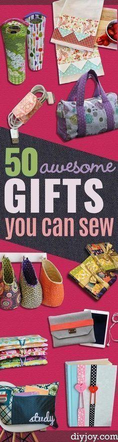 DIY Sewing Gift Idea #sewinggifts