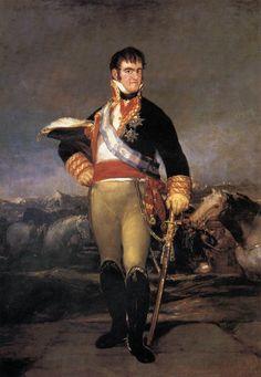 Ferdinand VII by Francisco Goya