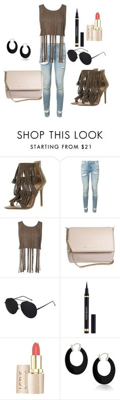 """""""Fringe everywhere"""" by dzenita-219 on Polyvore featuring moda, Off-White, Givenchy, Yves Saint Laurent i Bling Jewelry"""