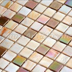 Iridescent glass mosaic tiles kitchen glass tiles bathroom glass tile glass swimming pool tiles A8TP302