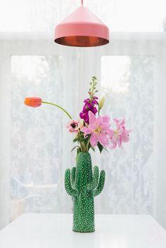 Image of Jarrón cactus