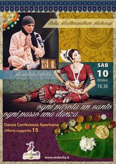 Associazione Culturale Orchestés │ Danza Classica Indiana : Danza Indiana Odissi - spettacolo a Roma