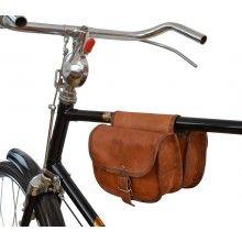 Sabine S. Sacoche en cuir vintage pour vélo-21