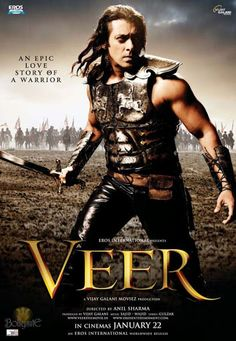 Veermovieposter 30 Creative Bollywood Movie Posters Design Inspiration New Hindi