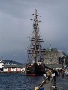 Dans le port de BERGEN (Norvège)