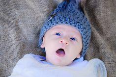Baby E looking cute as a button!