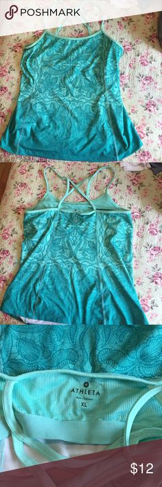 Athlete exercise top, size XL, never used Athlete exercise top, size XL, never used Athleta Tops Tank Tops
