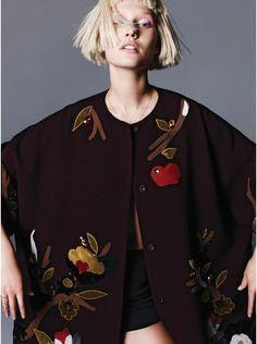 visual optimism; fashion editorials, shows, campaigns & more!: toni garrn by nagi sakai for harper's bazaar germany september 2014