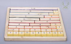 Pojga matematikai doboz  A matematikai képességek fejlesztésére, az alapvető egyenletek gyakorlására alkalmas játék.   A játékhoz tartozik egy vászonzsák is, amiben könnyen tárolható, szállítható.   Természetes anyagokból, kézzel készült termék.   Felhasznált anyagok: juharfa és bükkfa.
