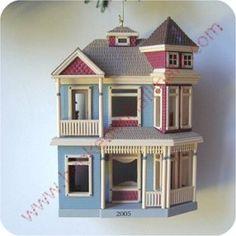 Victorian Home, Nostalgic Houses & Shops Series Hallmark Ornament, 2005