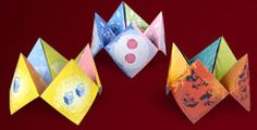 Kung Fu Panda cootie catchers