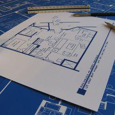 Seinfeld Apartment 8.5x11 design inspiration on Fab.