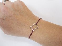 """""""eternity texas symbol bracelet"""" -- i would totally rock this ALL the time!!"""