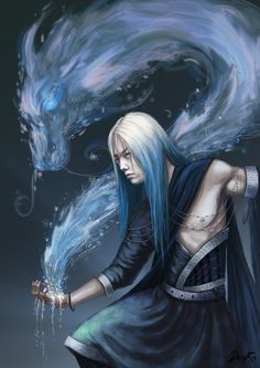 Water Mage - by Karista | #art #mage