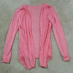 Pink Thin Cardigan Pink Thin Cardigan, size small S Sweaters Cardigans