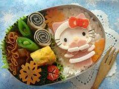 「キティちゃん キャラ弁」の画像検索結果